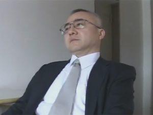【ゲイ動画ビデオ】会社社長のような風貌のじいさんがオナニー&バイブで尻穴をほじられてからの生セックスでモロ感!