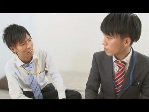 【ゲイ動画ビデオ】「何でも教えてください!」軽はずみな言動で新人リーマンが先輩に身体を求められてアナルセックスにハッテン!