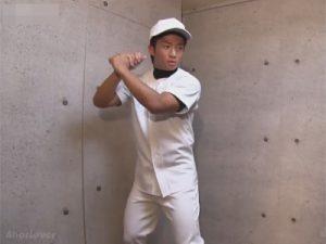 【ゲイ動画ビデオ】野球一筋な体育会系ボーイがケツマンを犯されチンポをしゃぶりながら自分のマラを手淫し射精をキメる!