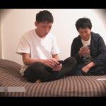 【ゲイ動画】Hなエステ師の2人がベッドの上で照れながらアナルセックスをしあって快楽におぼれあうことになる!