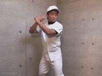 【ゲイ動画】野球一筋な体育会系ボーイがケツマンを犯されチンポをしゃぶりながら自分のマラを手淫し射精をキメる!